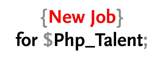 Vacature: PHP programmeur